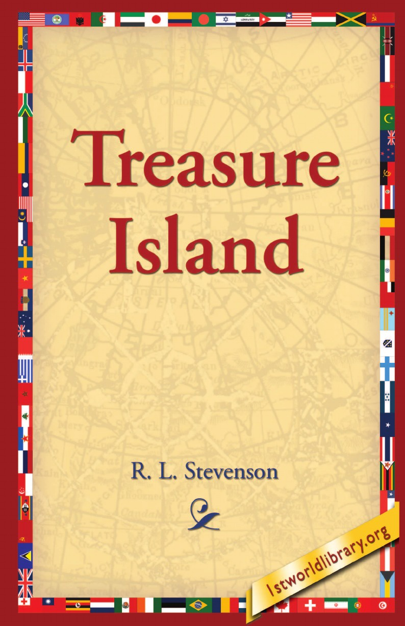 Stevenson Robert Louis Treasure Island black allison my first touch and find sea