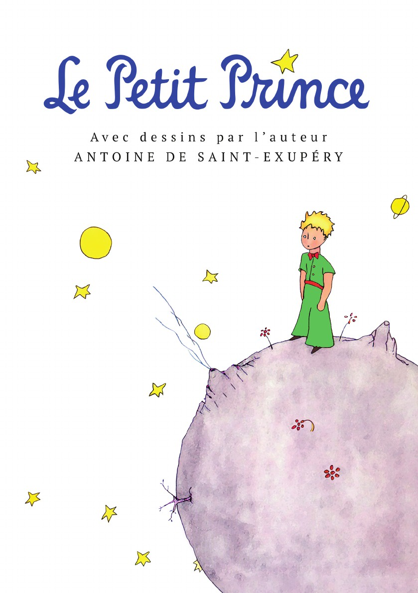 Antoine de Saint-Exupery Le Petit Prince l page gavotte en boutade