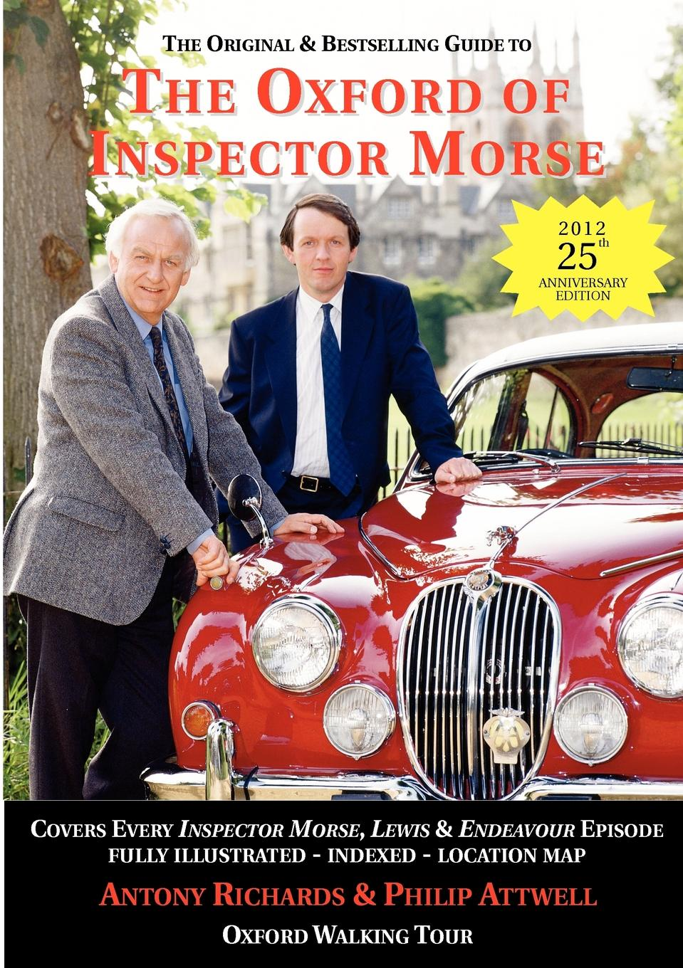 Antony J Richards, Philip Attwell The Oxford of Inspector Morse morse taper holder bt40 mtb2 120