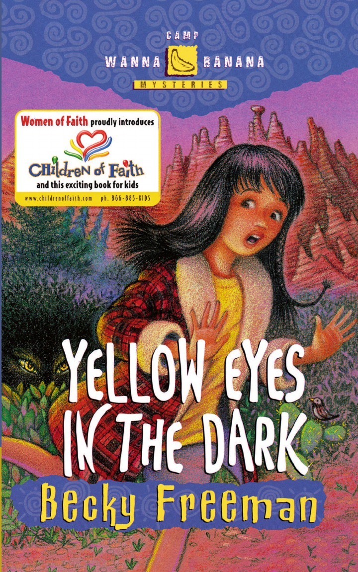 Becky Freeman Yellow Eyes in the Dark in the dark