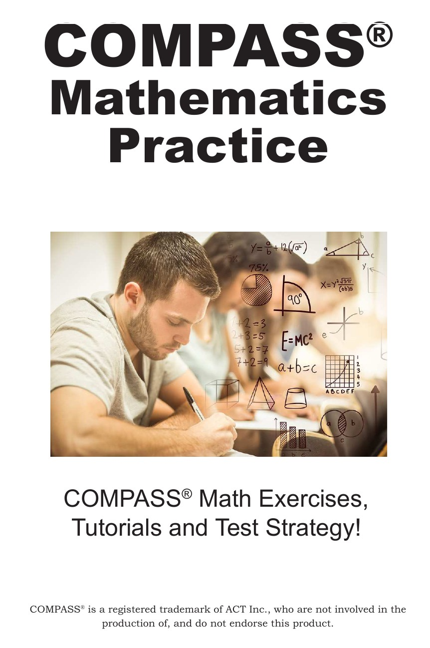 Complete Test Preparation Inc. COMPASS Mathematics Practice. Math Exercises, Tutorials and Multiple Choice Strategies a suit of retro carved geometric necklace and bracelet earrings and ring for women
