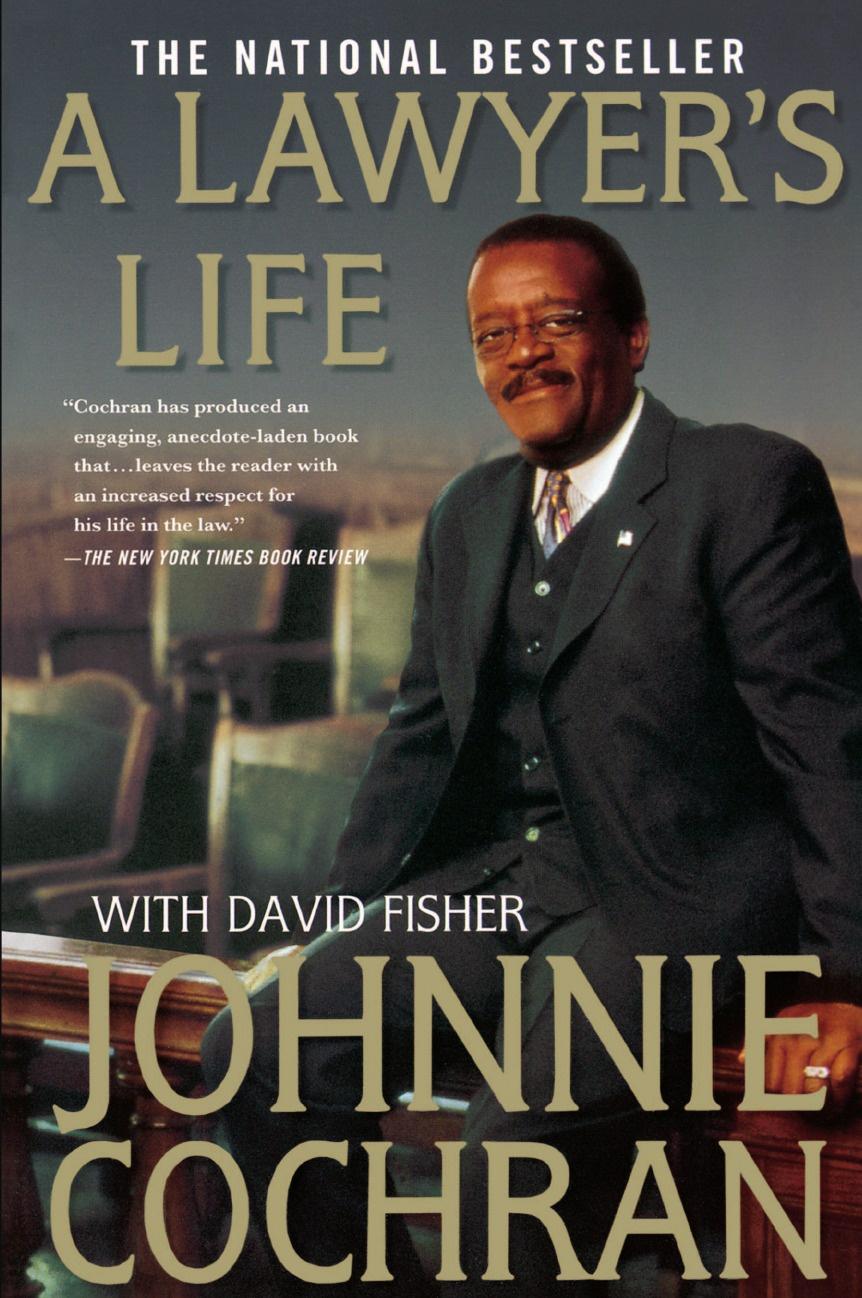 Johnnie L. Cochran A Lawyer's Life james cochran j informs abok