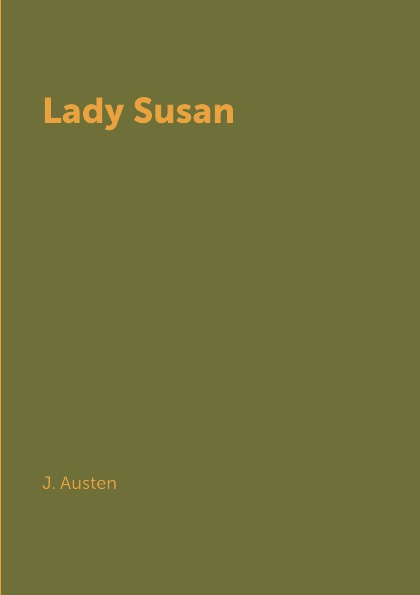 J. Austen Lady Susan