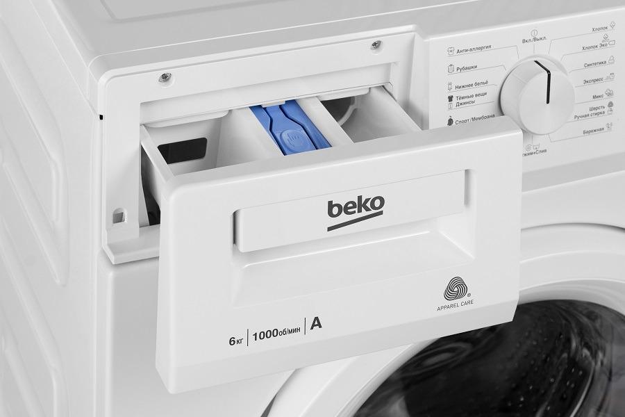 Стиральная машина Beko WRE 65P2 BWW, белый Beko