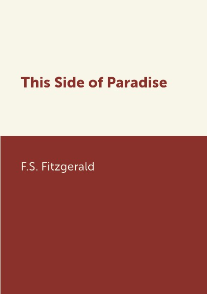 цены на F.S. Fitzgerald This Side of Paradise  в интернет-магазинах