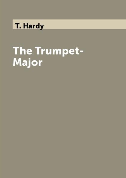 T. Hardy The Trumpet-Major trumpet sleeve ruffle hem surplice dress
