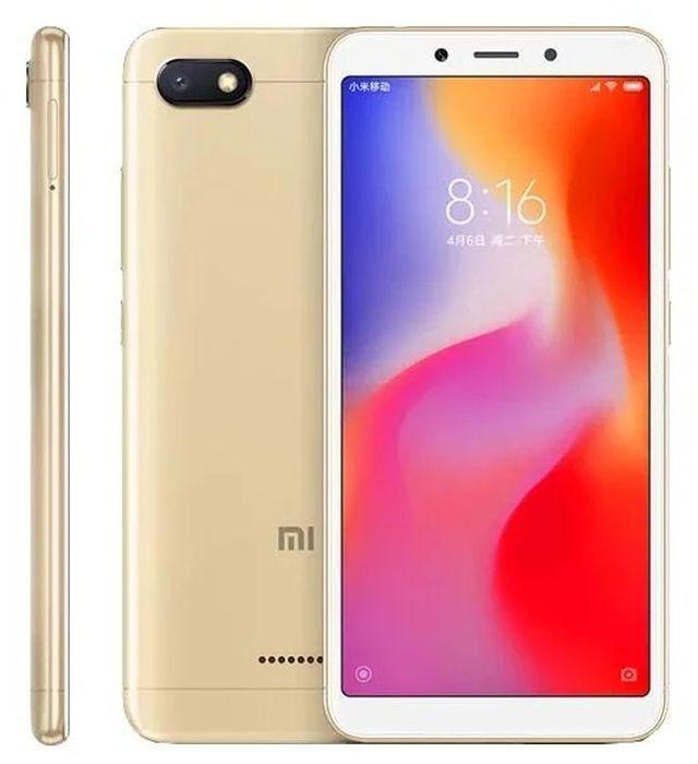 Смартфон Xiaomi Redmi 6A 2/32GB, золотой Xiaomi