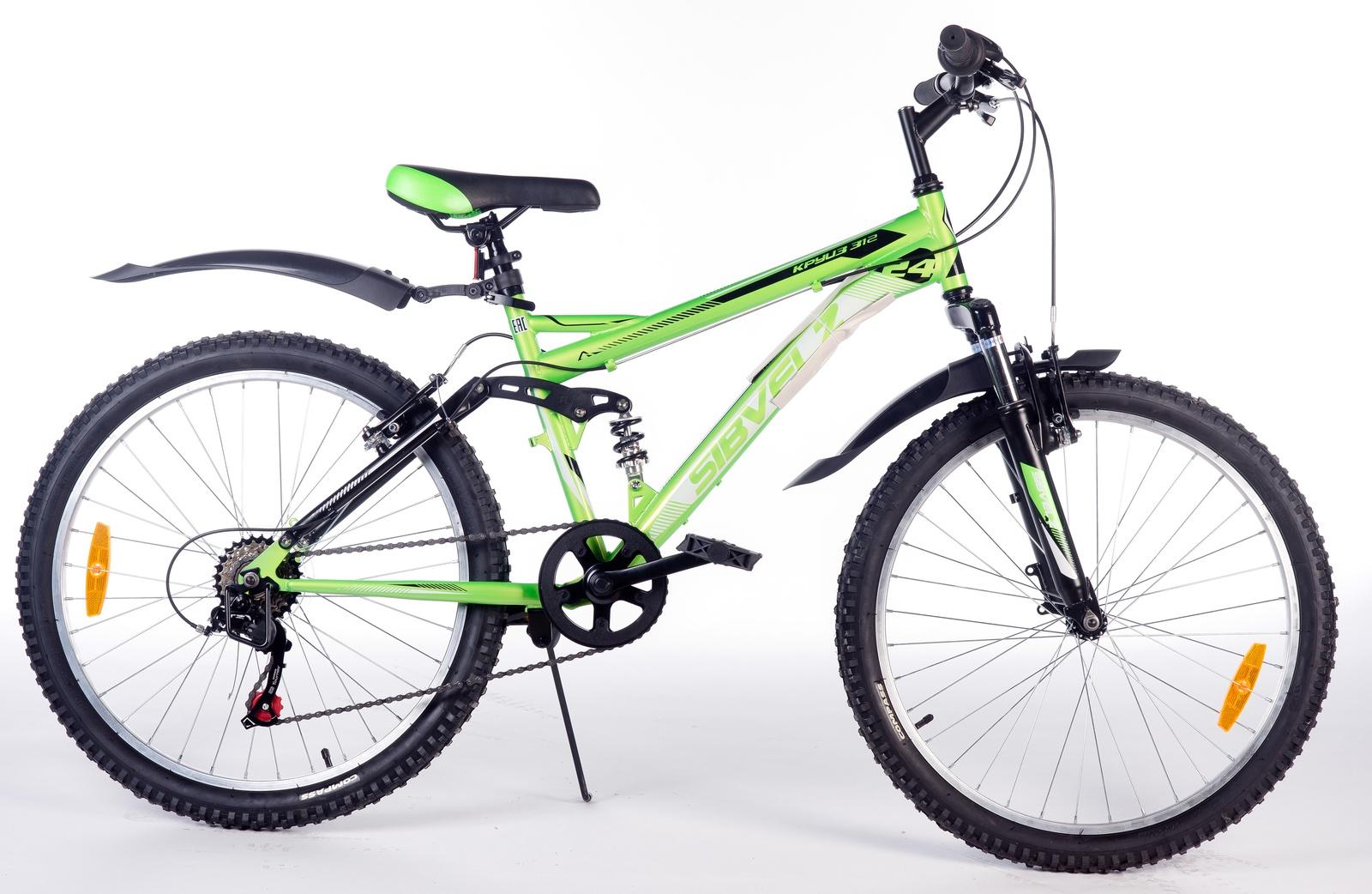 Велосипед Круиз 312 зеленый