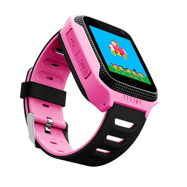 Часы Smart Baby Watch T7 (Q528 / G100 GW500S) - Розовые