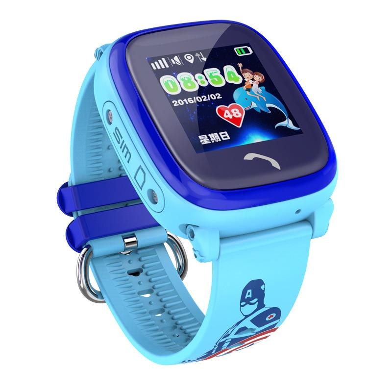 Часы Smart Baby Watch GW400S (HW08 / W9) - Голубые