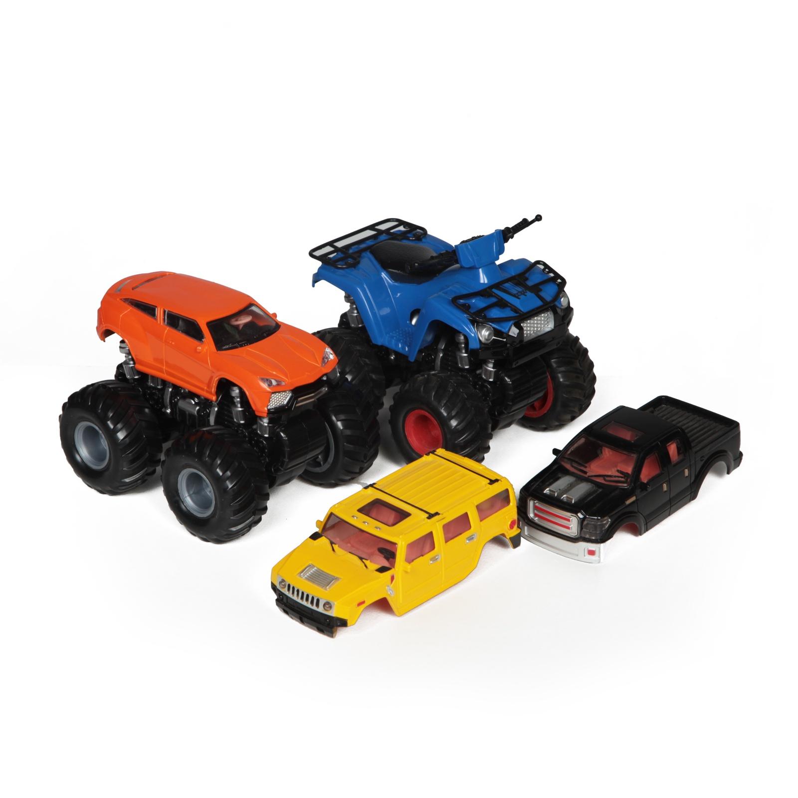 Инерционные полноприводные машинки,Внедорожная битва. машинки и мотоциклы yako авария ford
