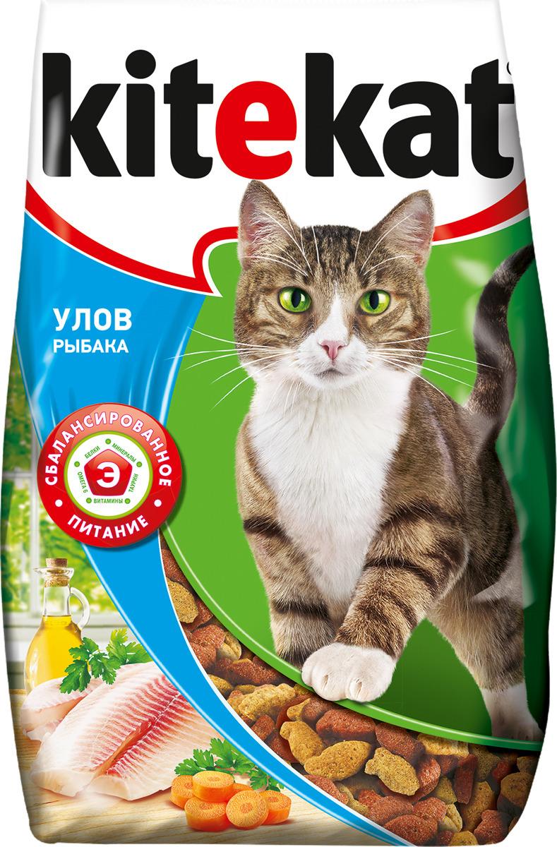 Корм сухой для кошек Kitekat, улов рыбака, 1,9 кг orthomol osteo витамины и минералы для укрепления костей 30 порций