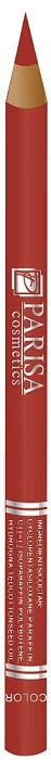 Parisa Карандаш для губ/глаз дерево № 412 Красный Классик (шт.), 1,5 гр