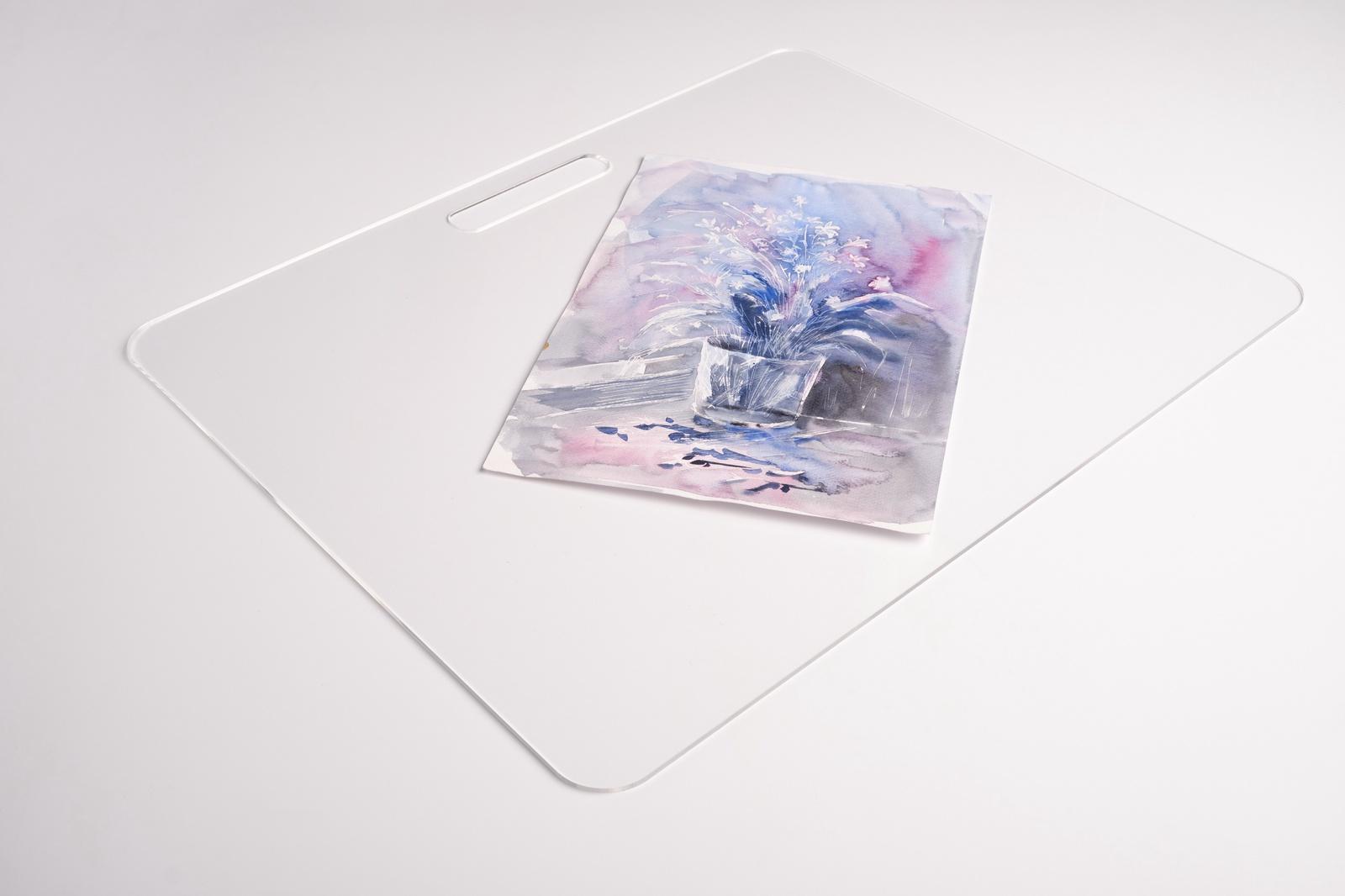 Прозрачный планшет для рисования из оргстекла картинка период