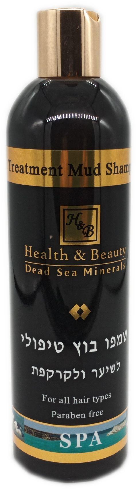 Шампунь с минералами (грязями) Мертвого моря для волос и кожи головы