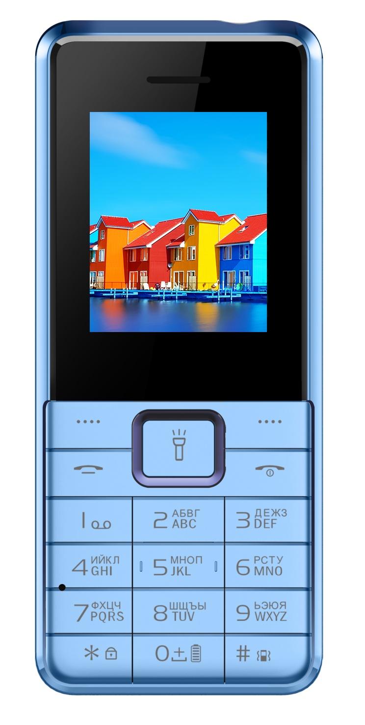 Мобильный телефон ITEL IT5606 city blue мобильный телефон itel it5606 ds elegant black