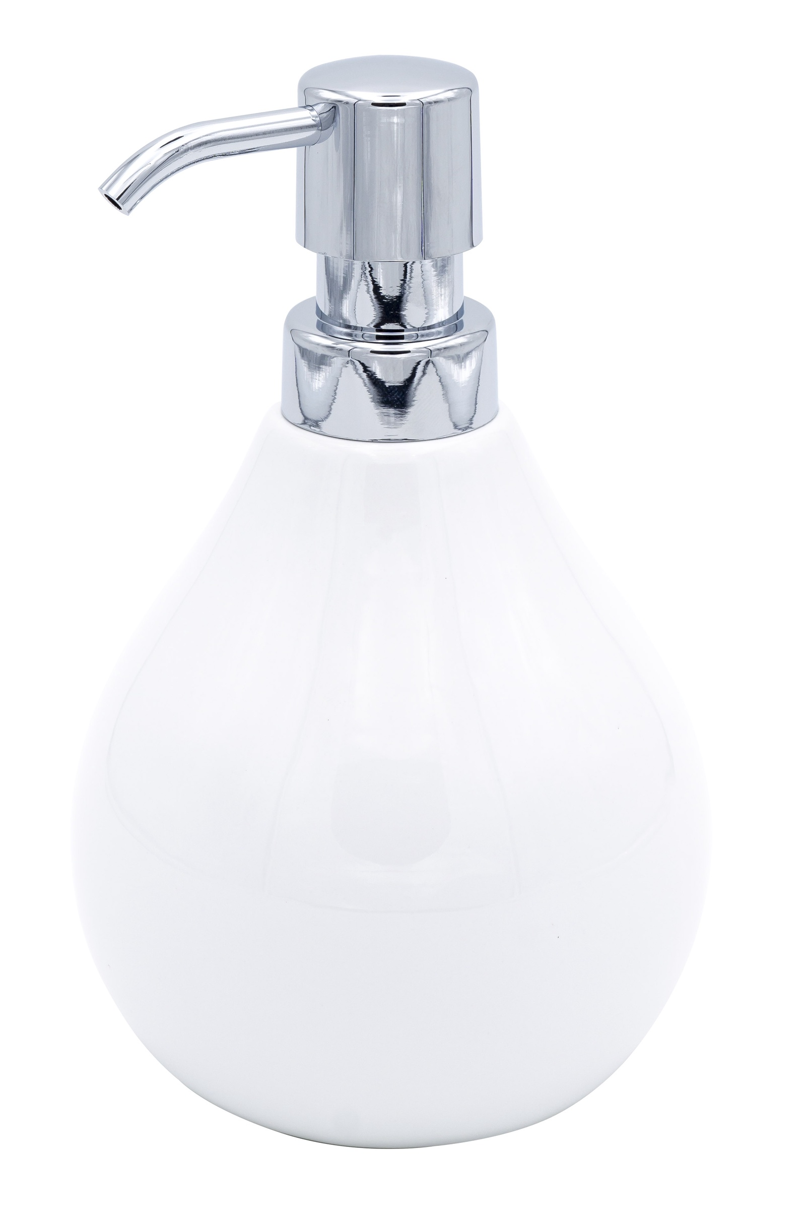 Дозатор для жидкого мыла Belly белый