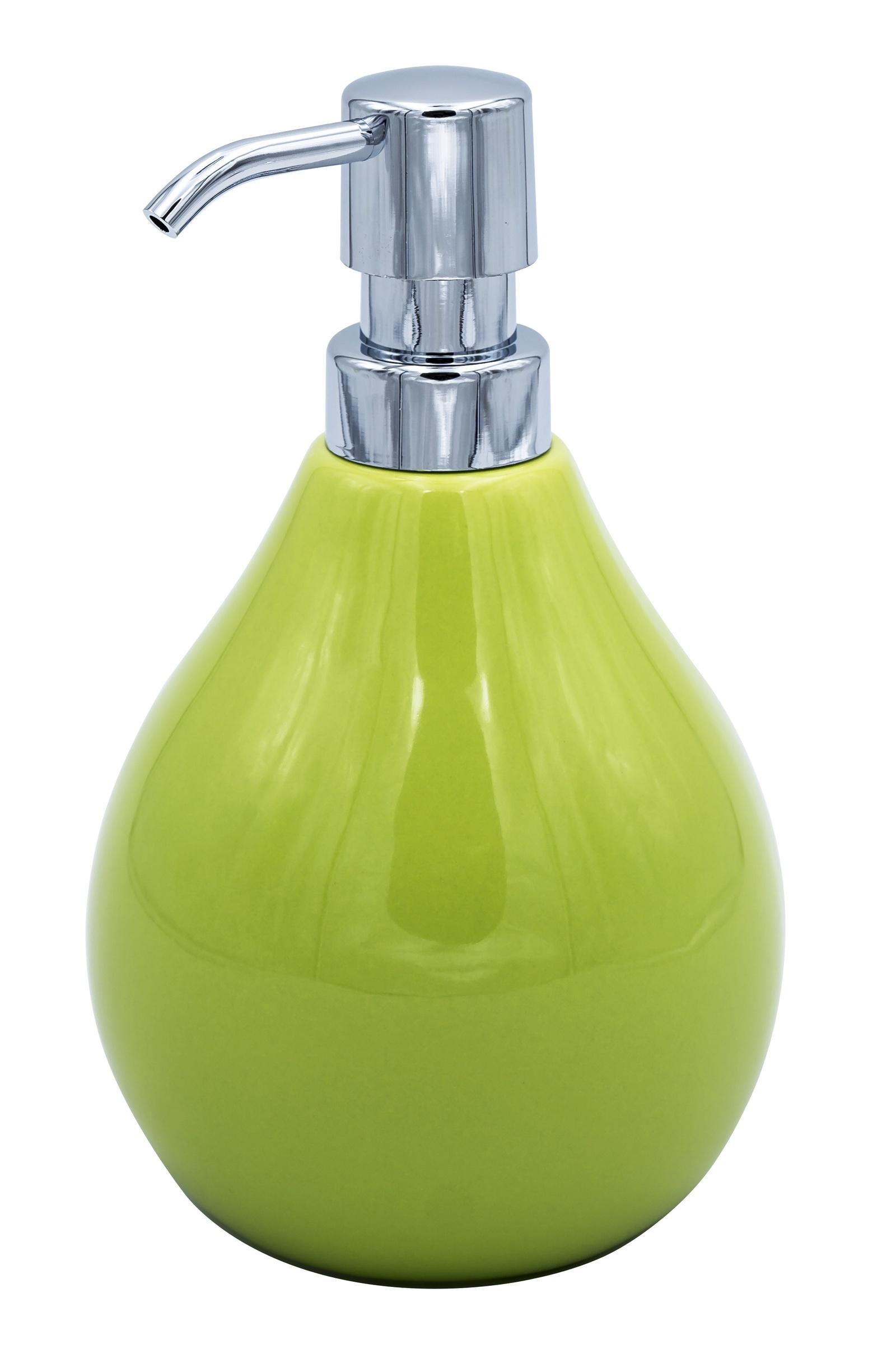 Дозатор для жидкого мыла Belly зелёный