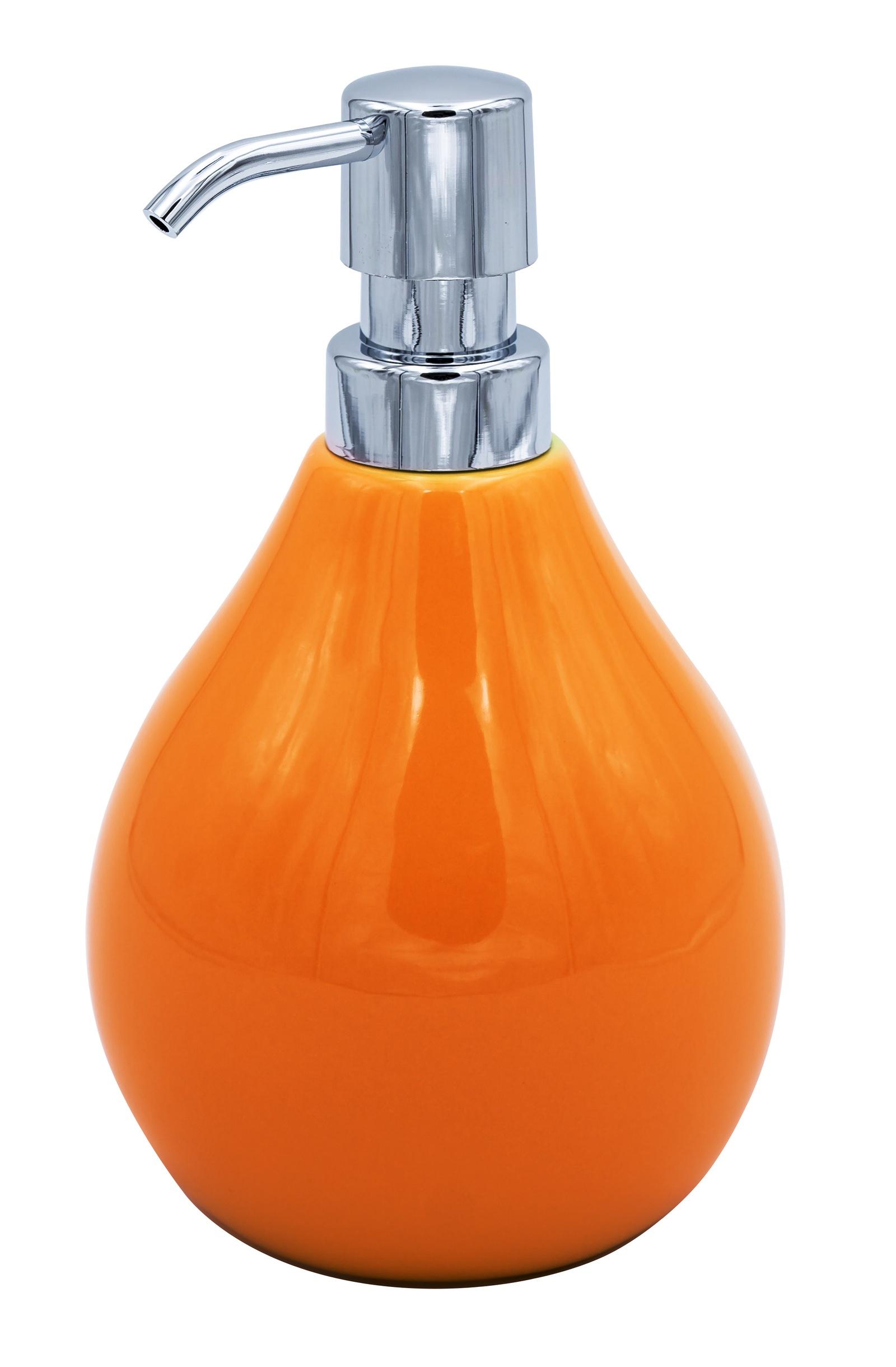 Дозатор для жидкого мыла Belly оранжевый