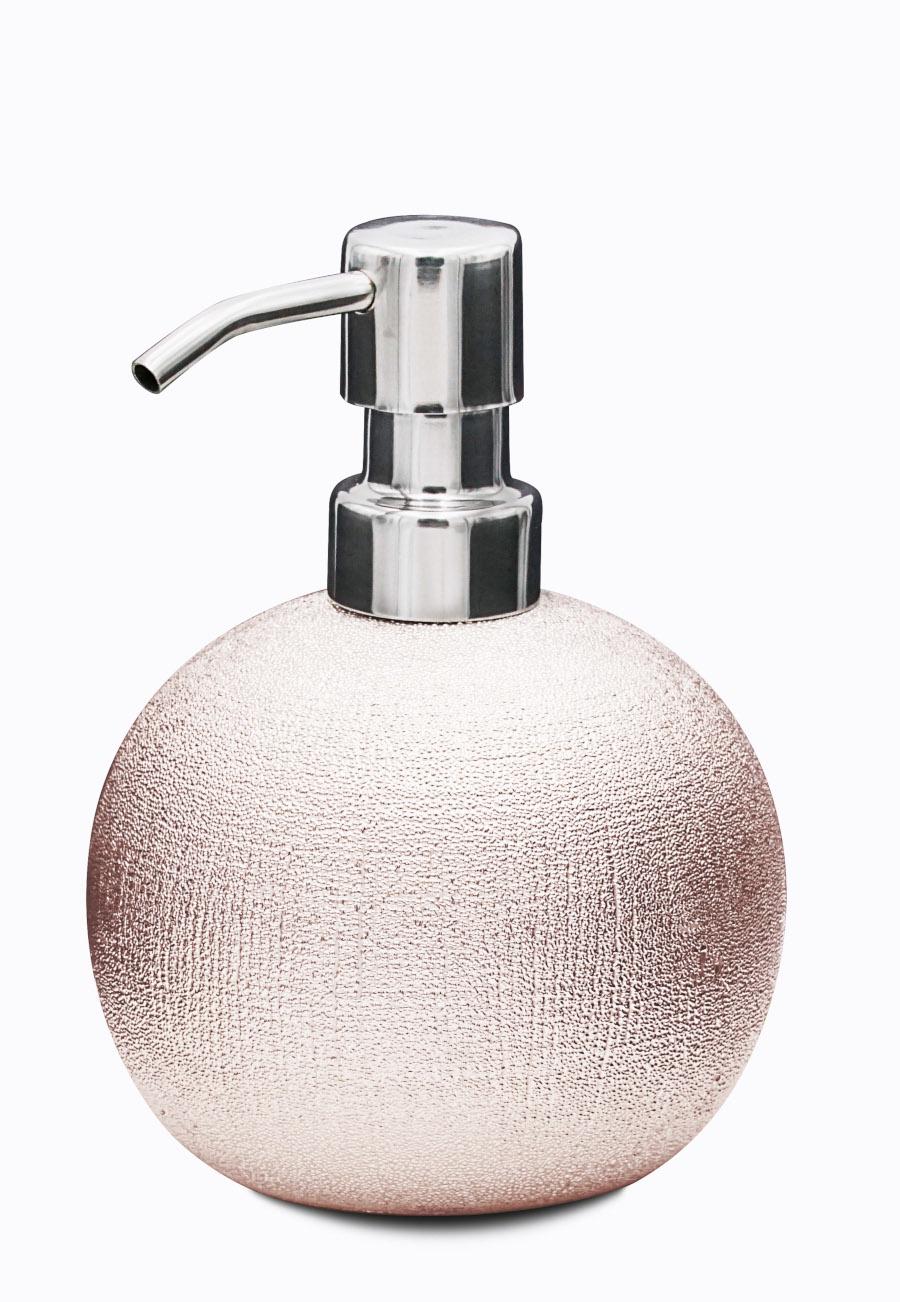 Дозатор для жидкого мыла Lucida розовый