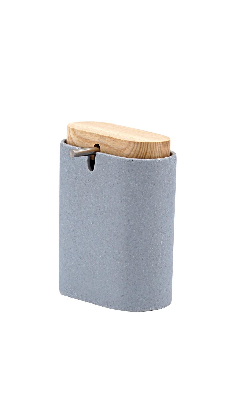 Дозатор для жидкого мыла Sassy серый