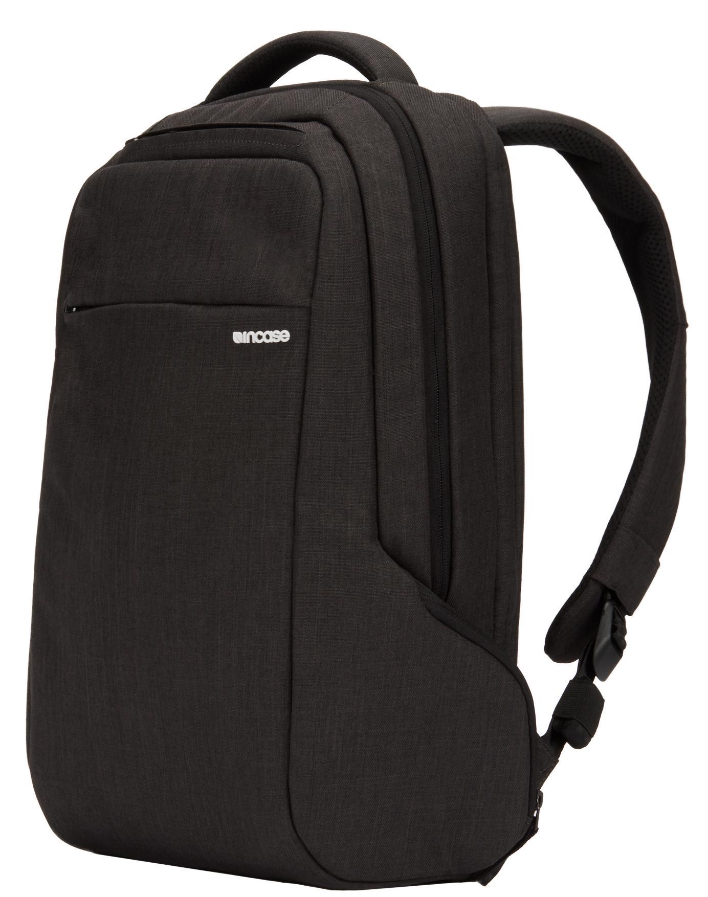 """Рюкзак Incase Icon Slim Pack для ноутбуков размером до 15"""" дюймов. Материал полиэстер. темно-серый"""
