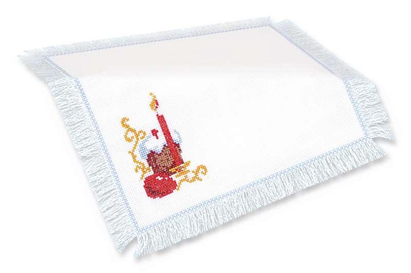Набор для вышивания Riolis салфетка