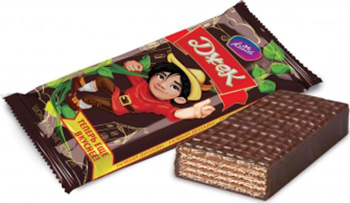 Konti Джек конфеты шоколадные вафельные, 520 г lord миндальный марципан со вкусом лайма шоколадные конфеты с начинкой 155 г