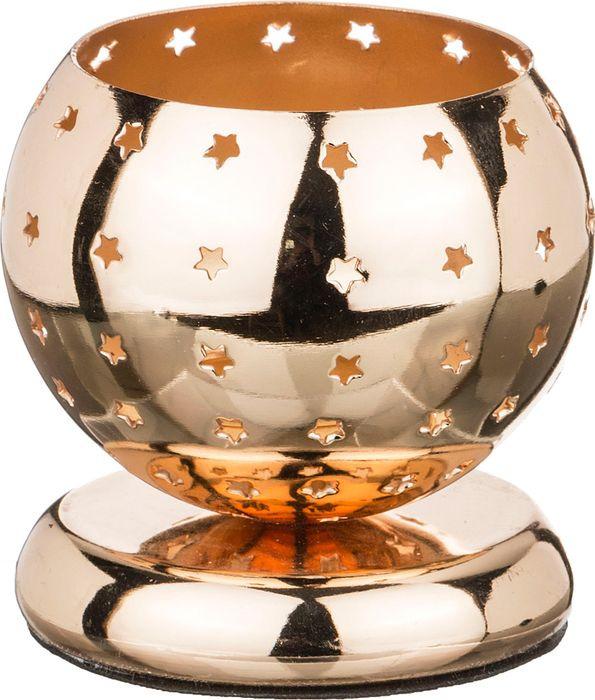 Подсвечник Lefard, 39-401, золотой, 8 х 8 х 8 см