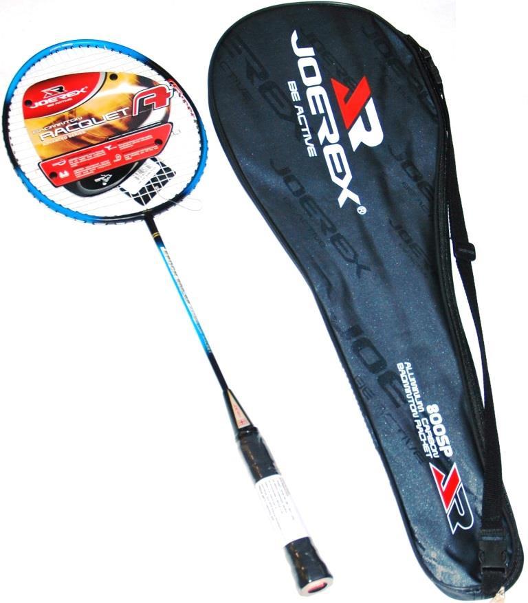 Ракетка для бадминтона JOEREX 800SP, ручка карбон