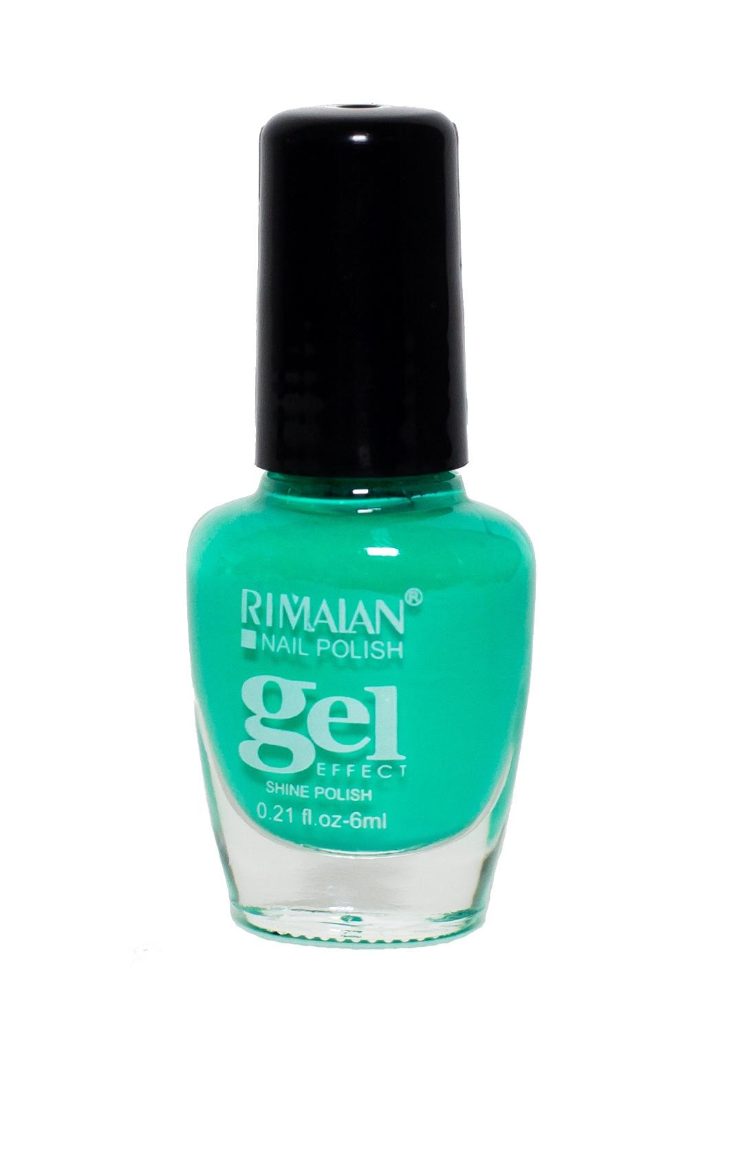 Rimalan 8012-25 Gel Effect Лак для ногтей 6мл 25 зеленый