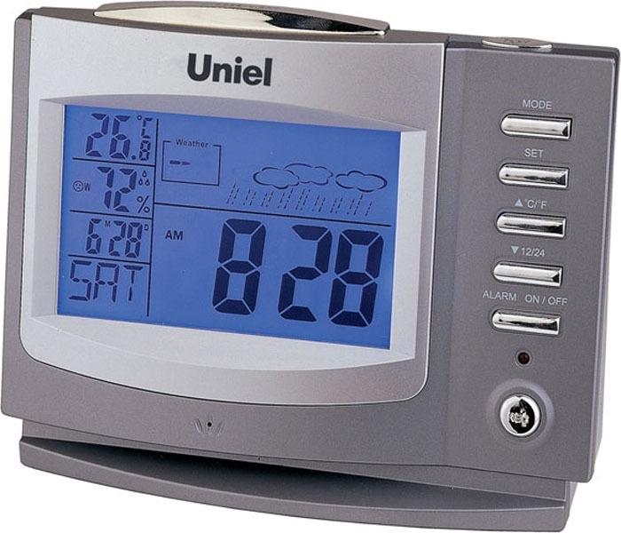 Метеостанция Uniel, UTV-97, серый