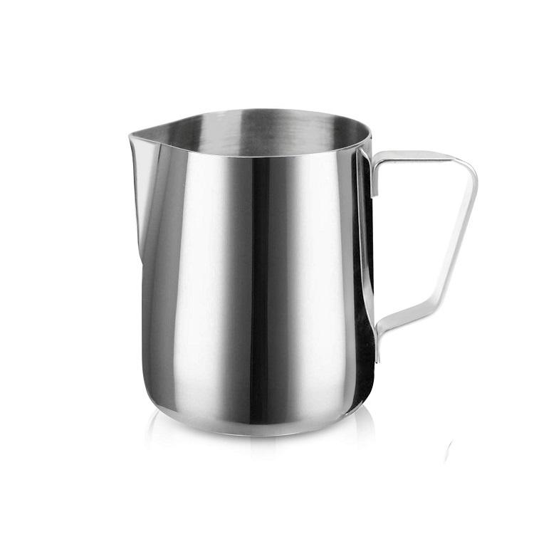 Питчер для молока, цвет серебристый, 350мл, 7,5х6,5х9,3 см