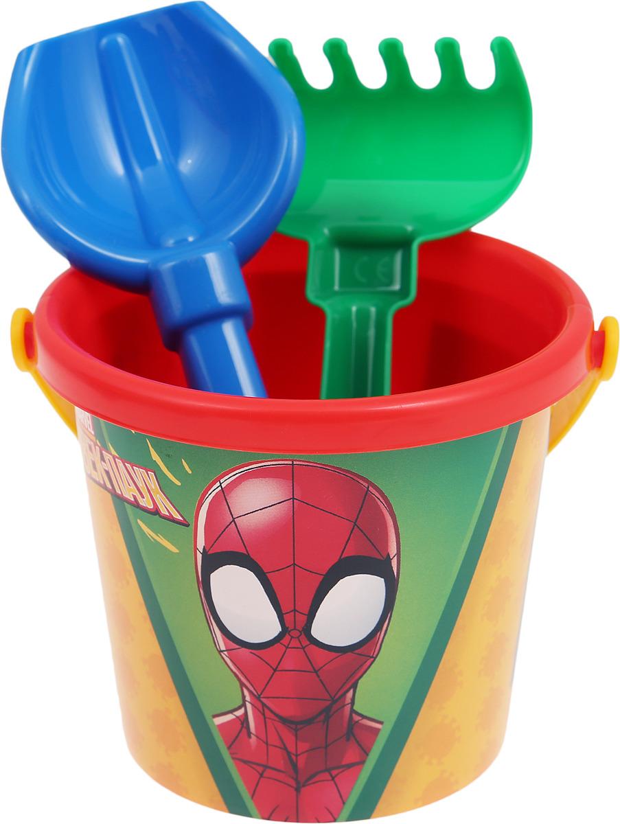 Фото - Игровой набор Полесье Marvel Человек-Паук №1, 66664, 3 предмета полесье полесье игровой набор набор инструментов 3 в ведре 132 эл