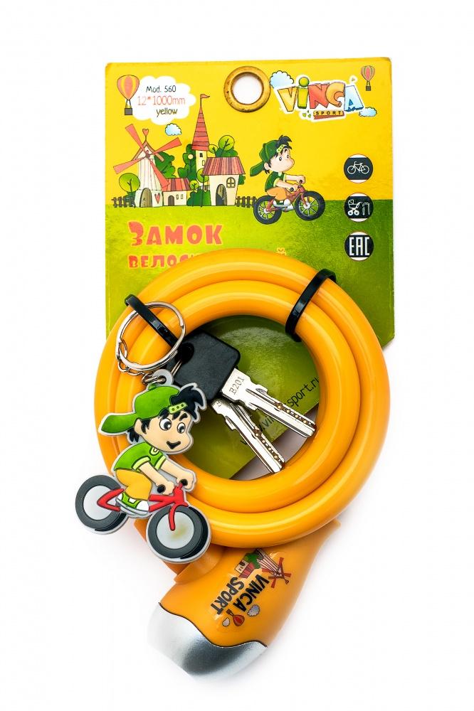 Велозамок VS Travellor с брелком 12х100см