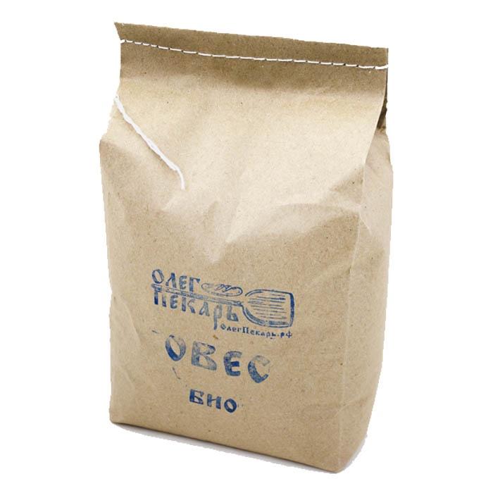 Овес в шелухе БИО. Органическое зерно, 2 кг.