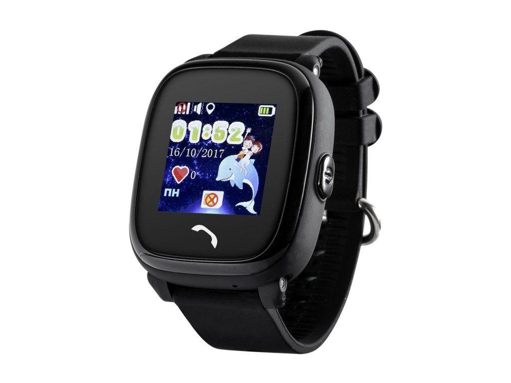 Часы Smart Baby Watch Q11 - Черные детские умные часы smart baby watch i8 тёмно синий