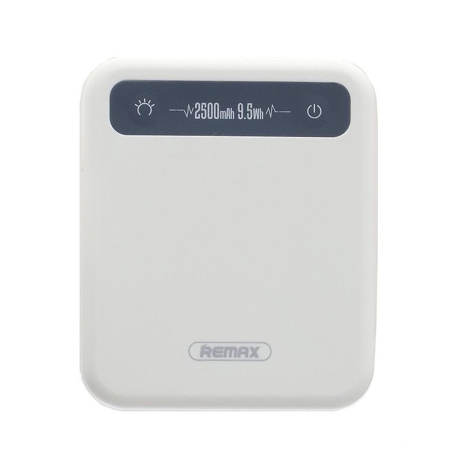Внешний аккумулятор Remax Power Bank RPP-51 Pino Series 2500 mAh белый