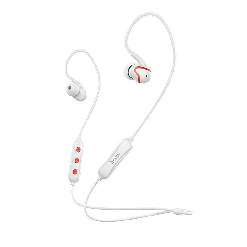 Гарнитура Bluetooth Hoco ES19 Joy sound sport универсальная белая недорго, оригинальная цена