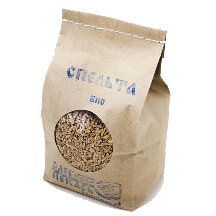 Спельта БИО. Зерно органическое, 2 кг