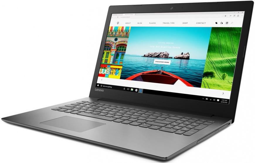 15.6 Ноутбук Lenovo IdeaPad 320-15IAP 80XR013QRK, черный ноутбук lenovo ideapad 320 15isk 80xh00ktrk