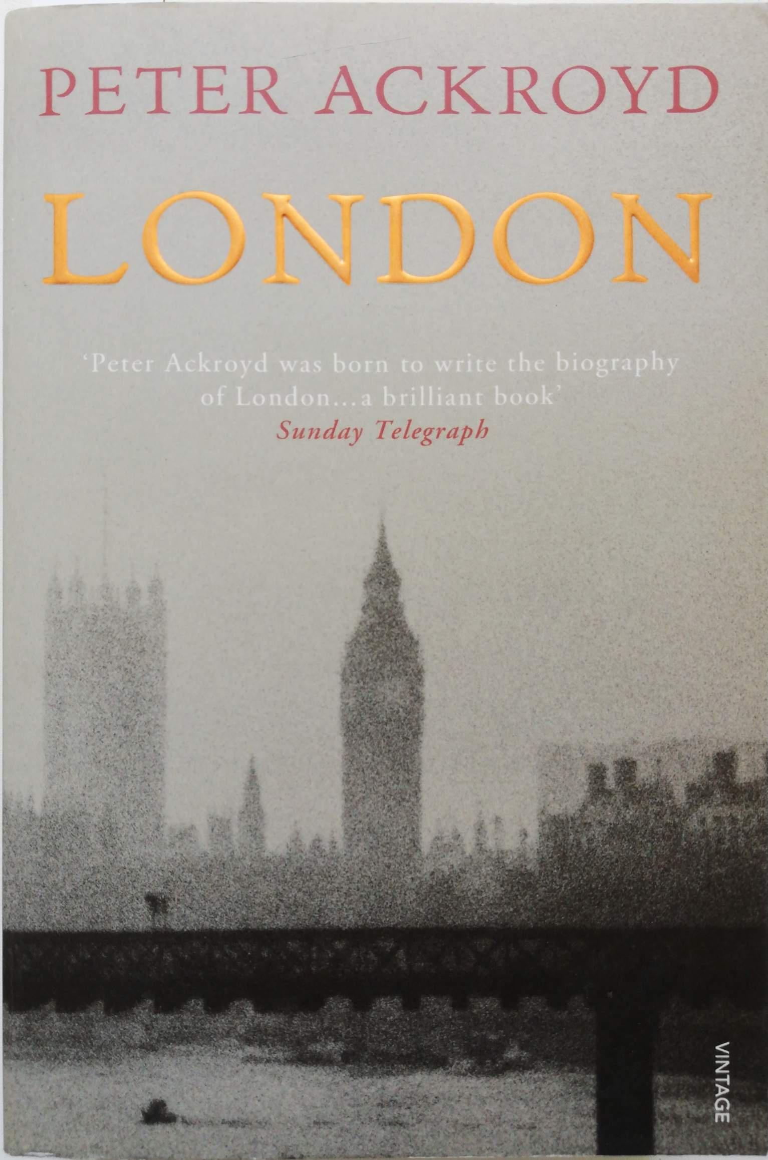 Peter Ackroyd London