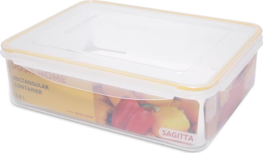 Контейнер пищевой Dosh Home Sagitta, 600106 3,8 л