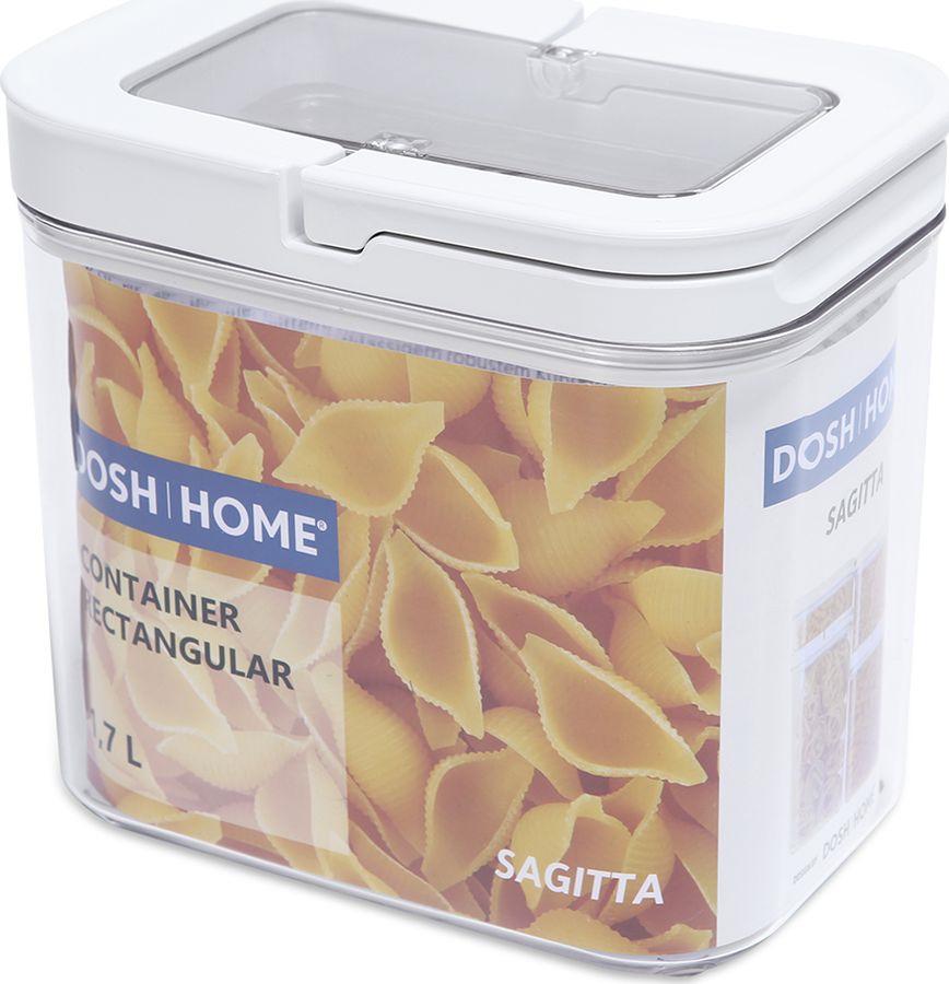Контейнер пищевой Dosh Home Sagitta, 600133, 1,7 л