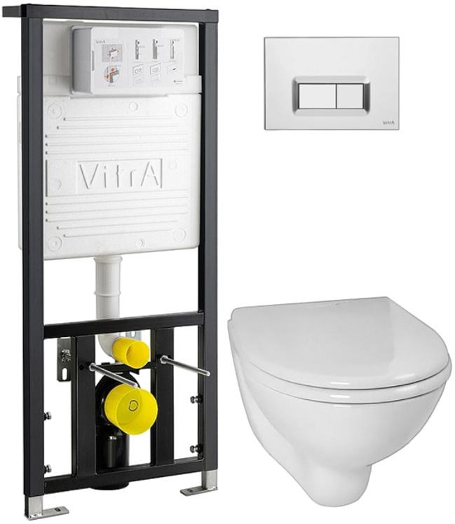 Комплект подвесного унитаза 3 в 1 Vitra Arkitekt 9005B003-7211