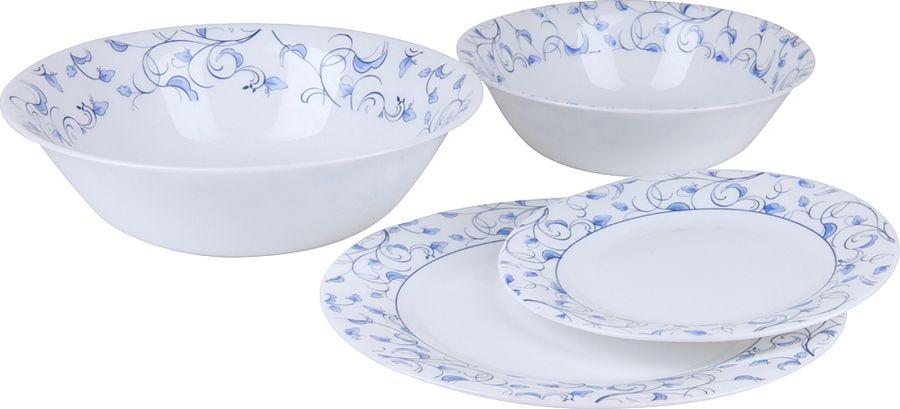 Набор столовой посуды Rosenberg, RGS-100007, разноцветный, 19 предметов