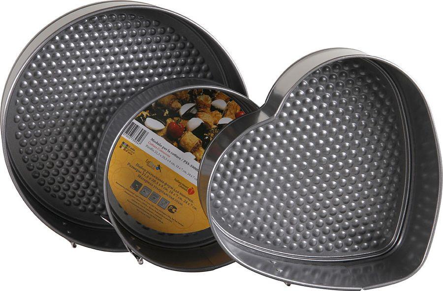 Набор форм для выпечки Pomi d'Oro, PSS-590003, серый, 3 шт