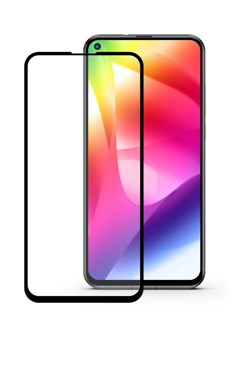 Защитное стекло Glass на весь экран для Huawei Honor 20 / Honor 20pro черного цвета