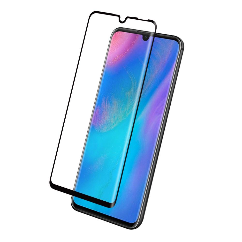 Защитное стекло Glass на весь экран для Huawei Honor 20 Lite черного цвета