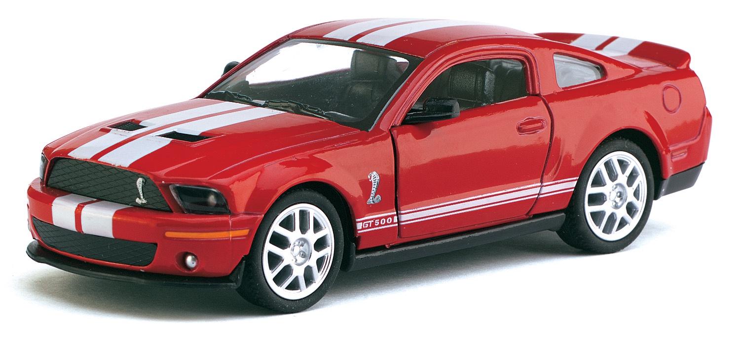 Машинка металлическая с открывающимися дверями, модель 2007 Shelby GT500 майка борцовка print bar ford mustang shelby gt500